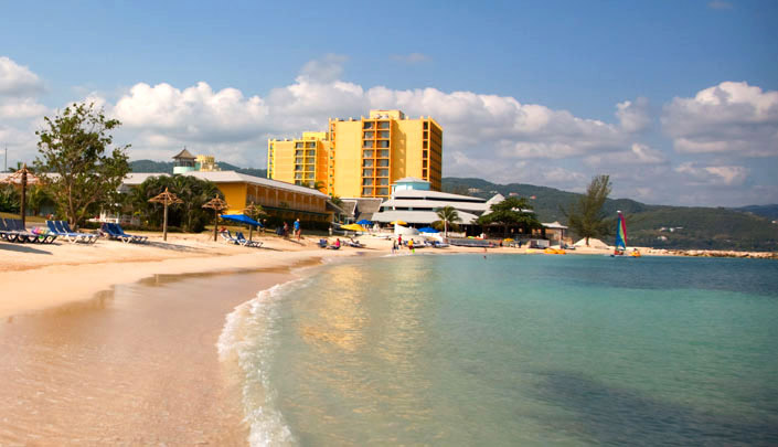 montego bay jamaica beach