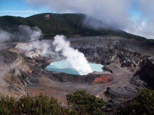 Volcanes en Costa Rica