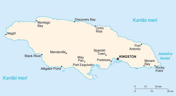 ciudades de jamaica