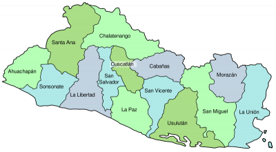 Cities of El Salvador on
