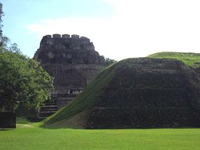 Belize Maya archeological sites
