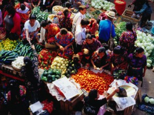 Sunday Market Chichicastenango Guatemala