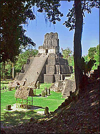 Mayas sites in Belize