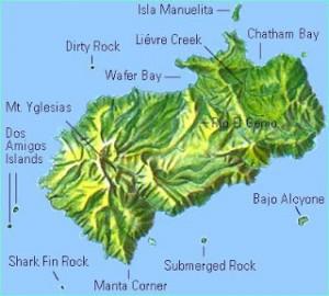 coco island map