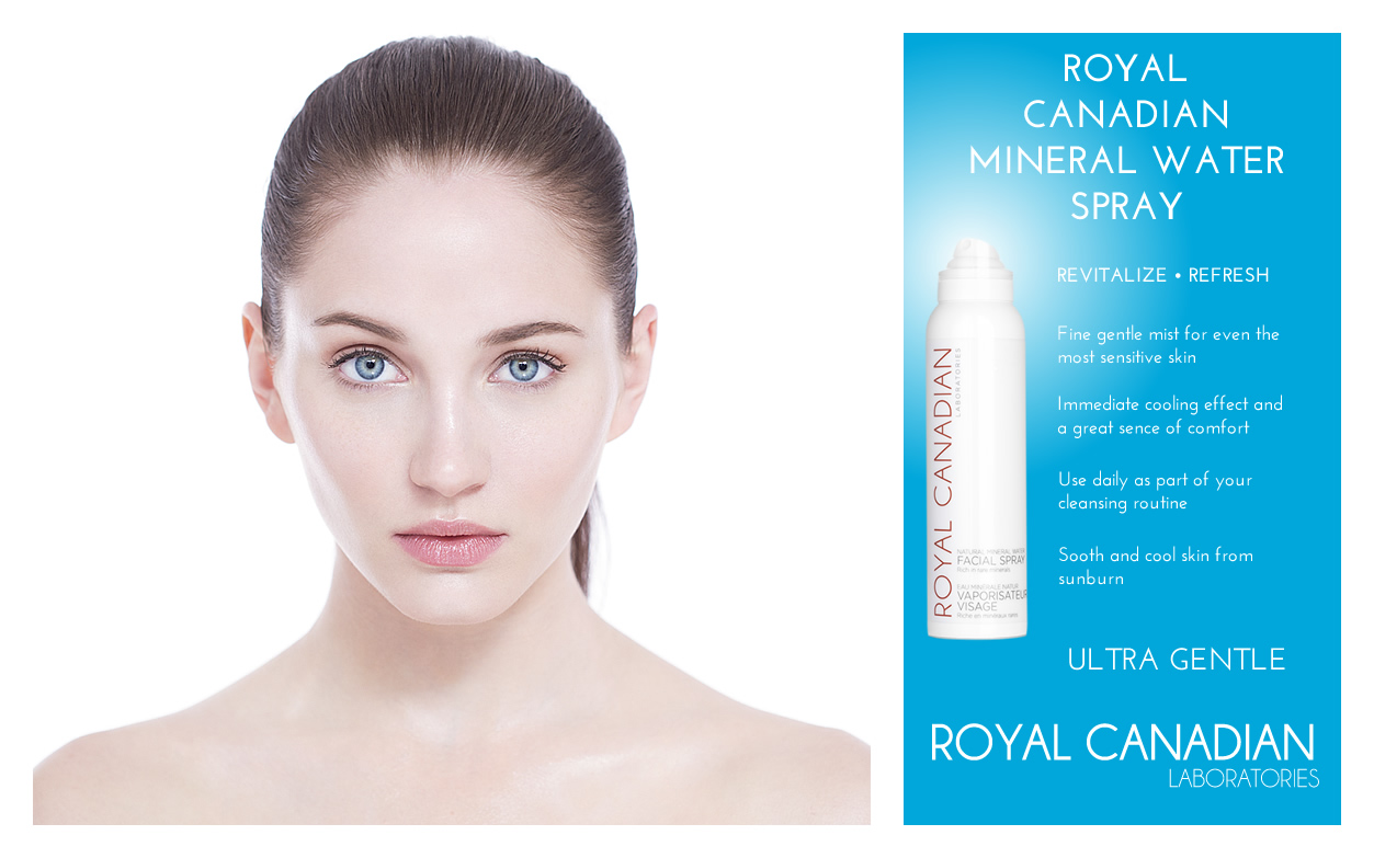 mineral water spray