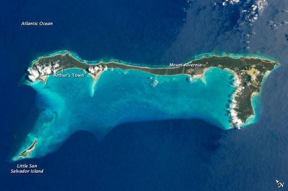 Eleuthera Island map