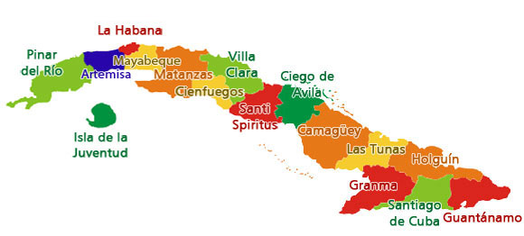 cuban cities
