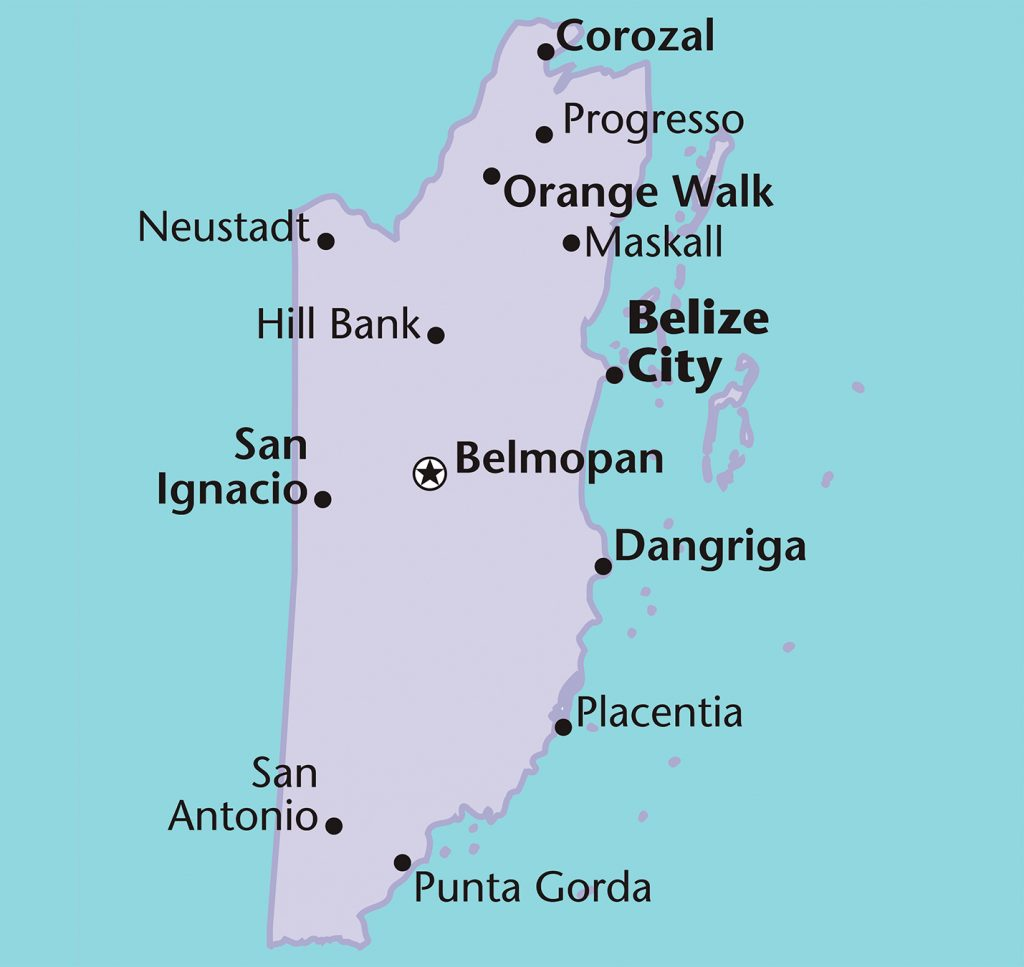 Cities Of Belize